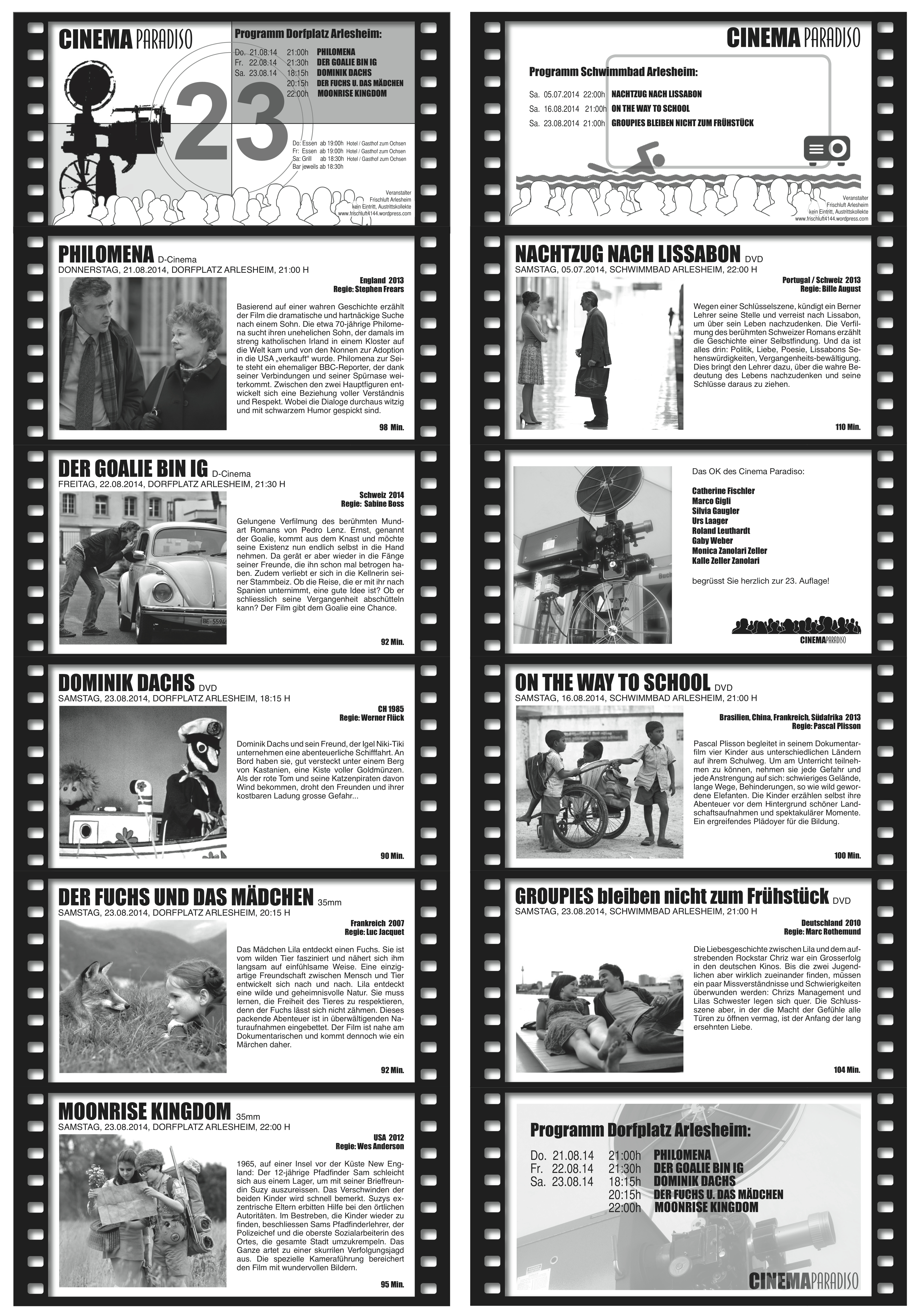 Filme Cinema Paradiso 2014